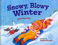 Cover image for Snowy, blowy winter