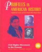 Cover image for Profiles in American history : significant events and the people who shaped them