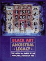 Cover image for Black art ancestral legacy : the African impulse in African-American art.
