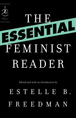 Cover image for The essential feminist reader