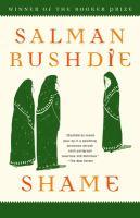 Cover image for Shame : a novel