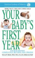 Cover image for Your baby's first year