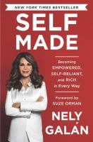 Cover image for Self made : becoming empowered, self-reliant, and rich in every way