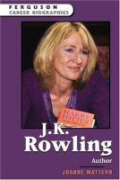 Cover image for J.K. Rowling, author