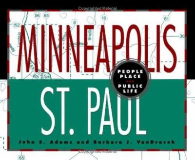 Cover image for Minneapolis-St. Paul : people, place, and public life