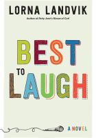 Cover image for Best to laugh : a novel