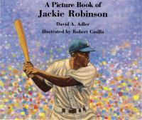 Cover image for A picture book of Jackie Robinson