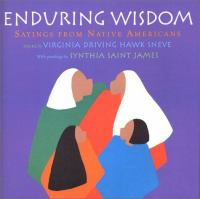 Cover image for Enduring wisdom : sayings from Native Americans