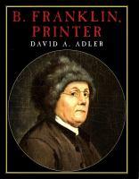 Cover image for B. Franklin, printer
