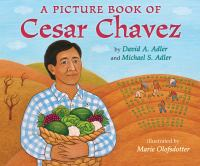 Cover image for A picture book of Cesar Chavez