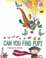 Cover image for Can you find Pup?