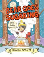 Cover image for Bear goes sugaring