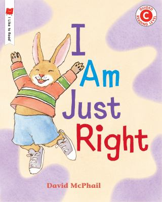 Cover image for I am just right
