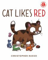 Cover image for Cat likes red