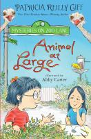 Cover image for Animal at large