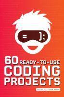 Cover image for 60 ready-to-use coding projects