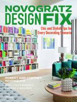 Cover image for Novogratz design fix : chic and stylish tips for every decorating scenario