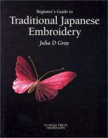 Cover image for The beginners guide to traditional Japanese embroidery