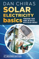 Cover image for Solar electricity basics : powering your home or office with solar energy