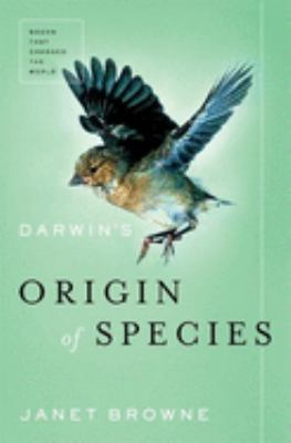 Cover image for Darwin's Origin of species : a biography