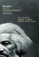 Cover image for Narrative of the life of Frederick Douglass, an American slave, written by himself : a new critical edition