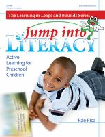 Cover image for Jump into literacy : active learning for preschool children
