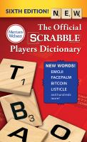 Cover image for The official Scrabble players dictionary
