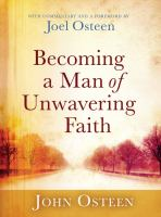 Cover image for Becoming a man of unwavering faith