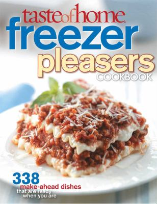 Cover image for Taste of home freezer pleasers cookbook