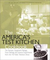 Cover image for The America's test kitchen cookbook
