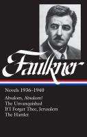 Cover image for Novels, 1936-1940