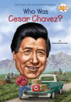 Cover image for Who was Cesar Chavez?