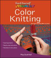 Cover image for Color knitting