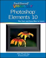 Cover image for Photoshop Elements 10