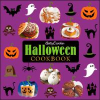 Cover image for Betty Crocker Halloween cookbook.