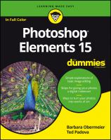 Cover image for Photoshop Elements 15 for dummies