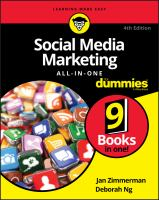 Cover image for Social media marketing all-in-one