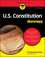 Cover image for U.S. Constitution