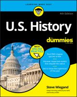 Cover image for U.S. history for dummies