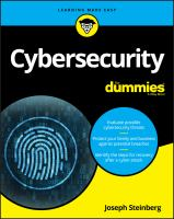 Cover image for Cybersecurity for dummies
