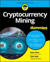 Cover image for Cryptocurrency mining for dummies