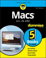Cover image for Macs all-in-one