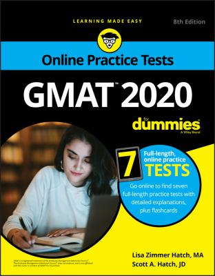 Cover image for GMAT 2020 for dummies