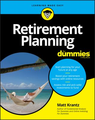 Cover image for Retirement planning for dummies