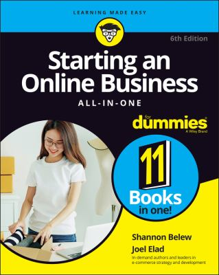 Cover image for Starting an online business all-in-one for dummies