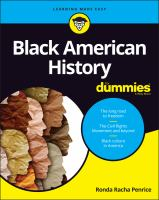 Cover image for Black American history for dummies