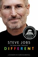 Cover image for Steve Jobs : the man who thought different