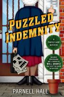 Cover image for Puzzled indemnity : a Puzzle Lady mystery