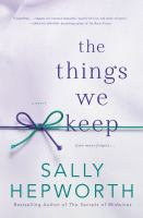 Cover image for The things we keep
