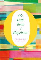 Cover image for O's little book of happiness